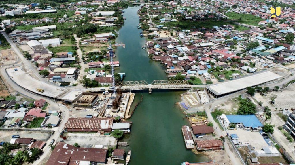 jembatan sei alalak tuntas 2021