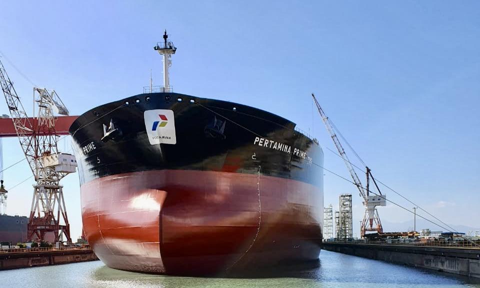 kapal VLCC Pertamina PRIME